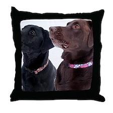 23-January Throw Pillow