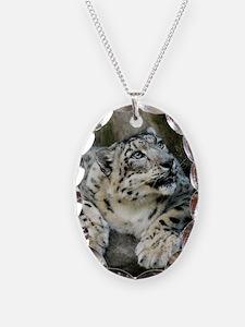 SnowLeopardBCR006 Necklace