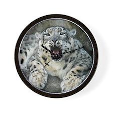 SnowLeopardBCR007 Wall Clock