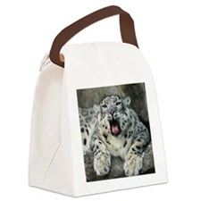 SnowLeopardBCR007 Canvas Lunch Bag