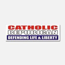 Catholic Republican (10x3) Car Magnet 10 x 3