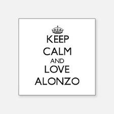 Keep Calm and Love Alonzo Sticker