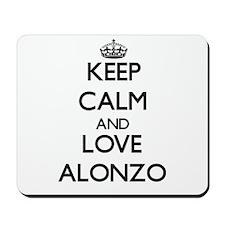 Keep Calm and Love Alonzo Mousepad