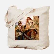 Guinevere and Arthur Tote Bag