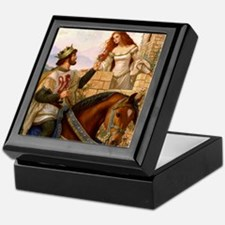 Guinevere and Arthur Keepsake Box