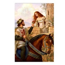Guinevere and Arthur Postcards (Package of 8)
