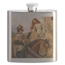 Guinevere and Arthur Flask