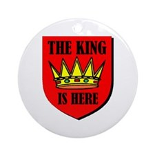 THE KING Ornament (Round)