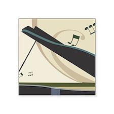 """Piano Square Sticker 3"""" x 3"""""""