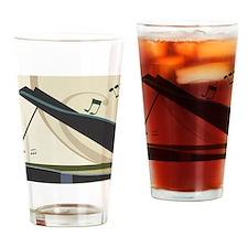 Piano Drinking Glass