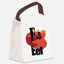 EisforEel Canvas Lunch Bag