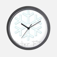 Winter FTF Wall Clock