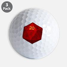 d20_hoodie_b Golf Ball