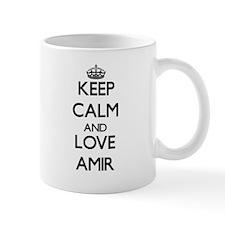 Keep Calm and Love Amir Mugs