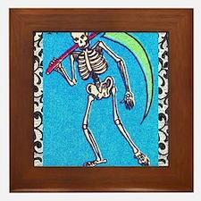 lamuerte9by12doubleborder Framed Tile
