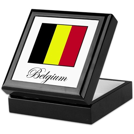 Belgium - Flag Keepsake Box