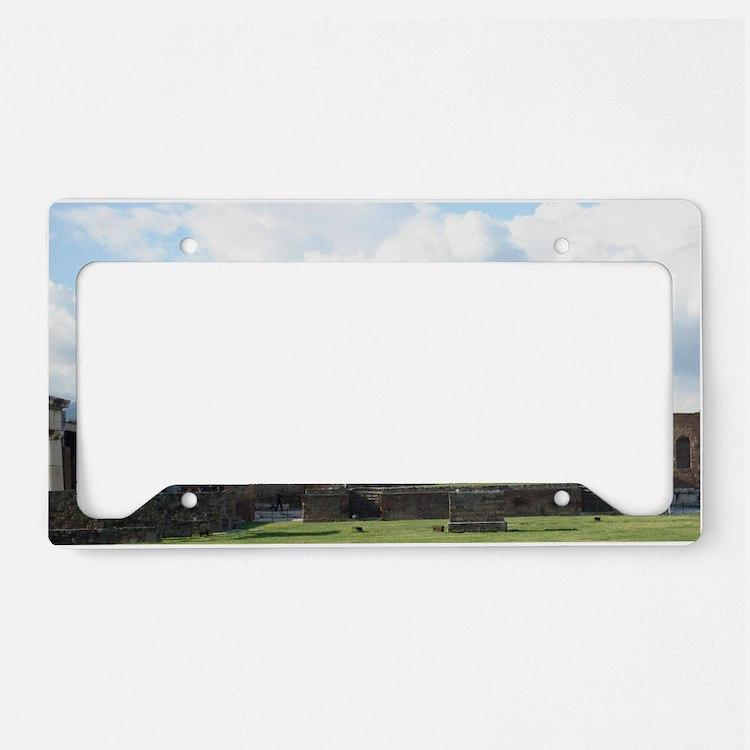 Pompeii License Plate Holder