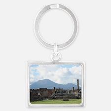 Pompeii Landscape Keychain