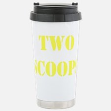 two scoops Travel Mug