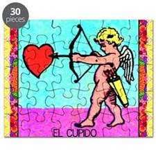 cupid12by12doubleborder Puzzle