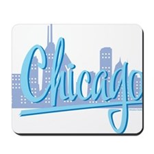CHICAGO-Light-Blue Mousepad