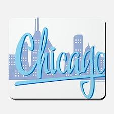 CHICAGO-Light-Blue Mousepad