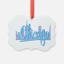 CHICAGO-Light-Blue Ornament