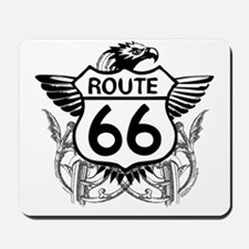 route_66_t_shirt Mousepad
