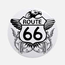 route_66_t_shirt Round Ornament