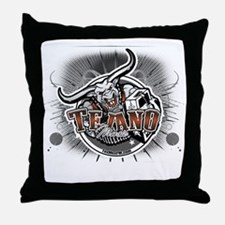 tejanologo2 Throw Pillow
