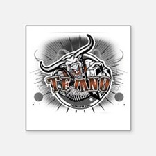 "tejanologo2 Square Sticker 3"" x 3"""