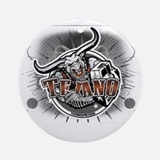 tejanologo2 Round Ornament
