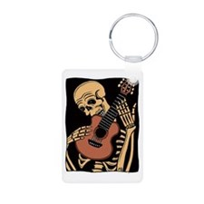 skullguitarcolor2 Keychains
