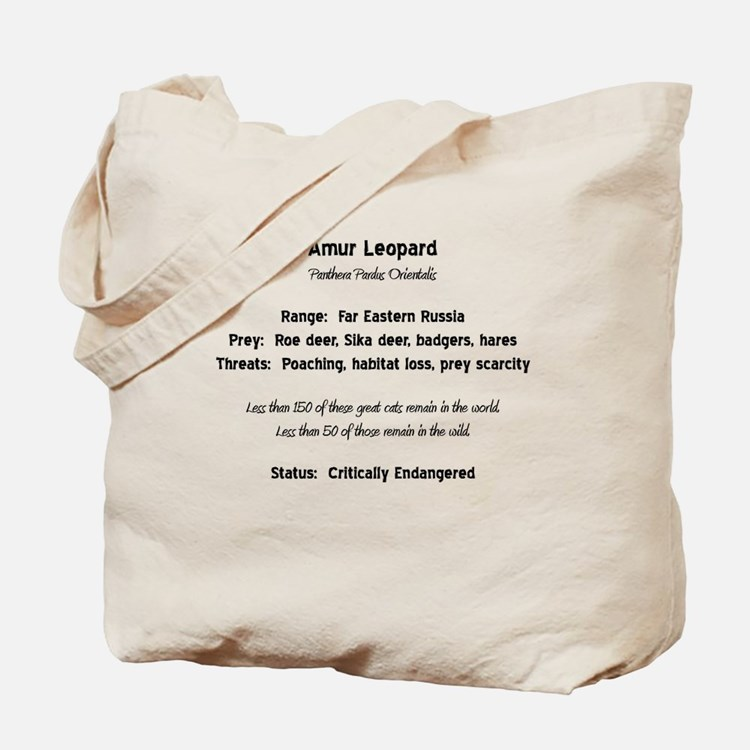 Amur Facts Tote Bag