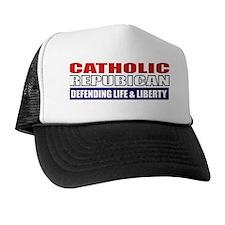 Catholic Republican (Travel Mug 2) Trucker Hat