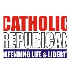 2-Catholic Republican (TS Postcards (Package of 8)