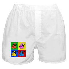Pop Art Cow Boxer Shorts