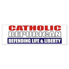 Catholic Republican (Ceramic Mug) Bumper Sticker