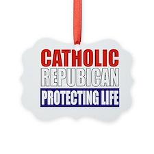 Catholic Republican (Tote) Ornament