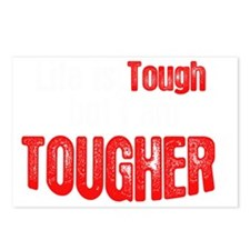 life-is-tough-but-dark Postcards (Package of 8)
