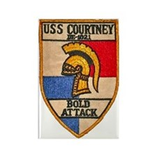 courtney patch transparency Rectangle Magnet