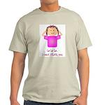 La La La I Can't Hear You Ash Grey T-Shirt