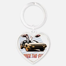 Remember the Future Heart Keychain
