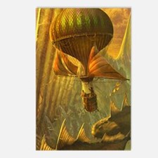 Steampunk_1_journal Postcards (Package of 8)