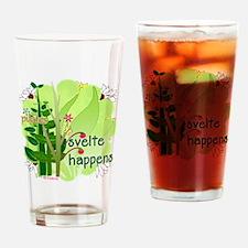 pilates svelte happens Drinking Glass