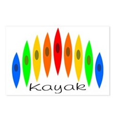 kayakrainbow Postcards (Package of 8)