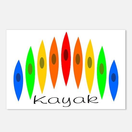 kayakrainbow Postcards (Package of 8)