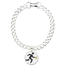 Beer Runner Charm Bracelet, One Charm
