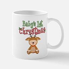 1st Christmas Baby Reindeer Mug