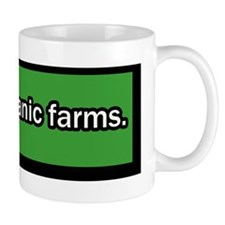 support-organic-farms-bumper-sticker Mug